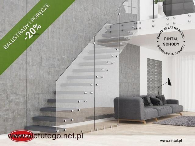 W kwietniu poręcze i balustrady do schodów -20%!